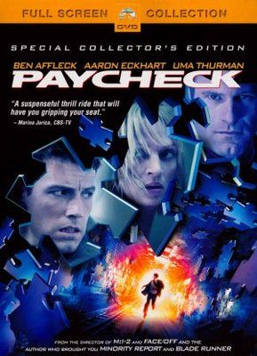 Paycheck poster | Movie Posters | Refs | Movies, Ben affleck
