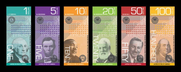 United States Currency by Melody Shar, via Behance