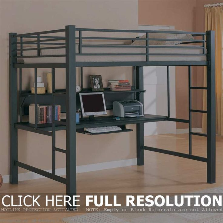 Best Teen Loft Beds With Desk Bedroom