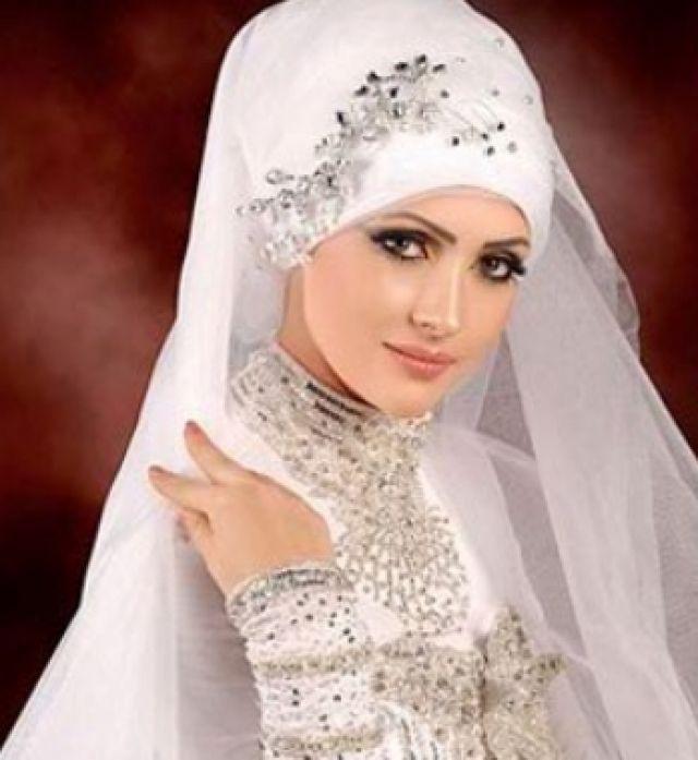 Turkish Bridal Hijab Wedding Dress
