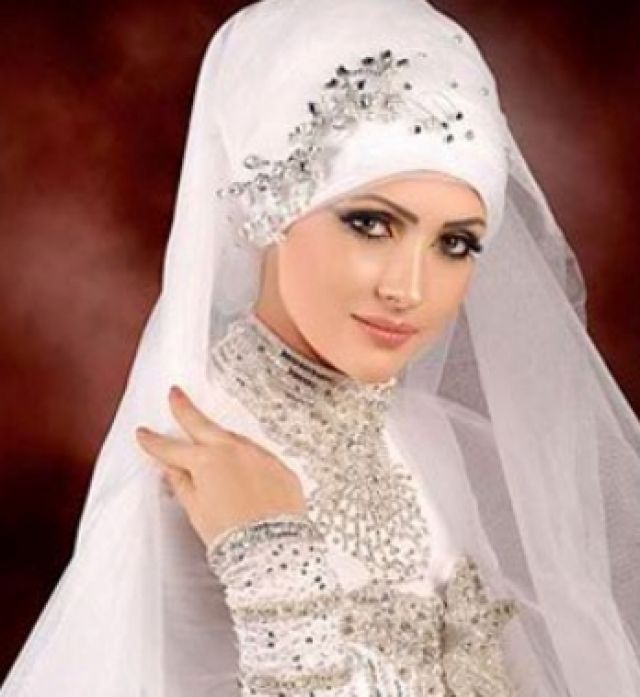 Turkish Bridal Hijab Wedding Dress