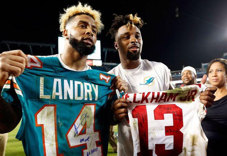 BFFs Jarvis Landry, Odell Beckham Jr. reunited on Pro Bowl's Team Rice | Odell Beckham Jr