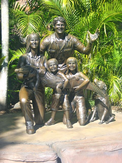 #neverhaveiever visited the home of the Crocodile Hunter, Australia Zoo. Beerwah, Queensland, Australia. He was my inspiration. RIP @StudentUniverse