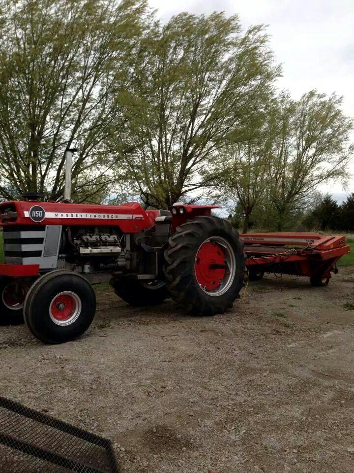 63 Best Massey Ferguson Images On Pinterest Antique Tractors