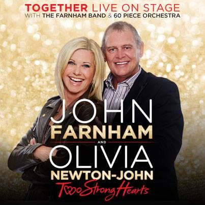 Don't forget: Telstra Thanks is running a special pre-sale for their customers starting tomorrow, Wednesday 15th October at 10:00am (local time). Register now – simply dial #814# from your #Telstra phone! John Farnham and Olivia Newton-John are bringing their Two Strong Hearts tour presented by #TelstraThanks to Australia in April 2015.