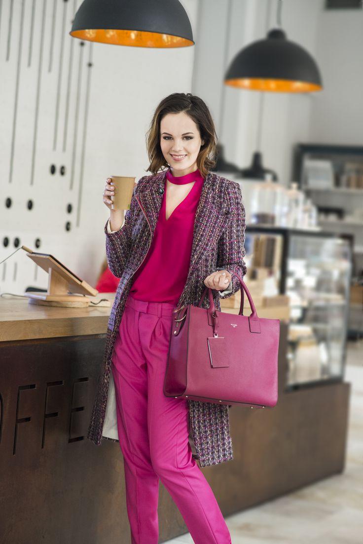 Life is too short to wear boring clothes #Magenta #IWearIvanaRosova #MyIRFG www.ivanarosova.com