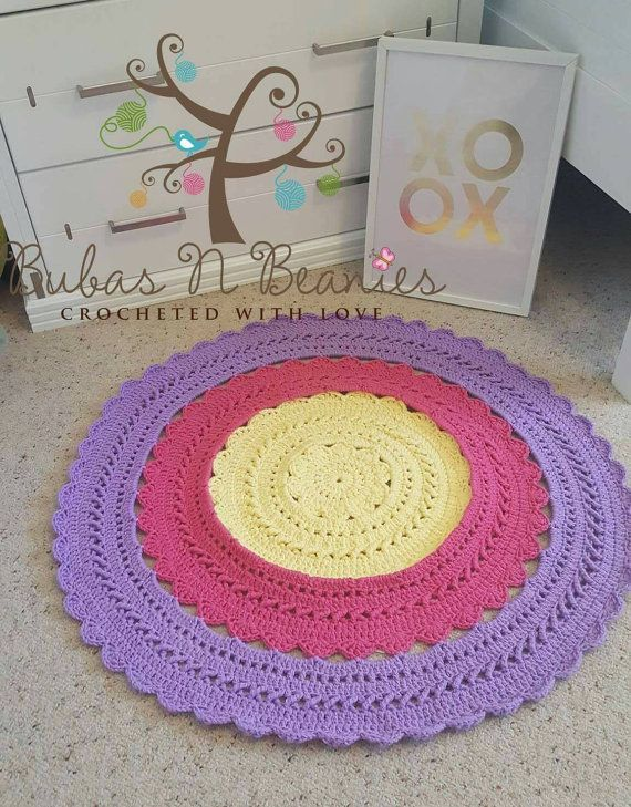 Check out this item in my Etsy shop https://www.etsy.com/au/listing/479925464/lalaloopsy-inspired-crochet-doily-rug