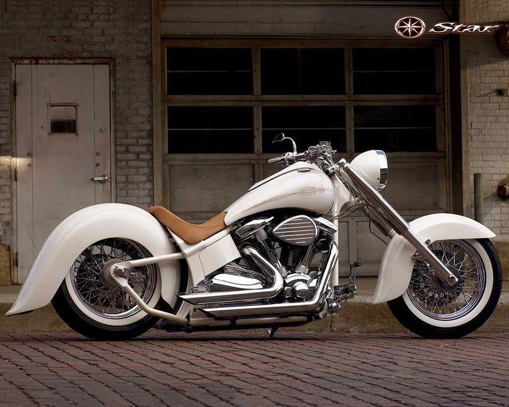 Yamaha V-Star.  Pretty nice for an import...