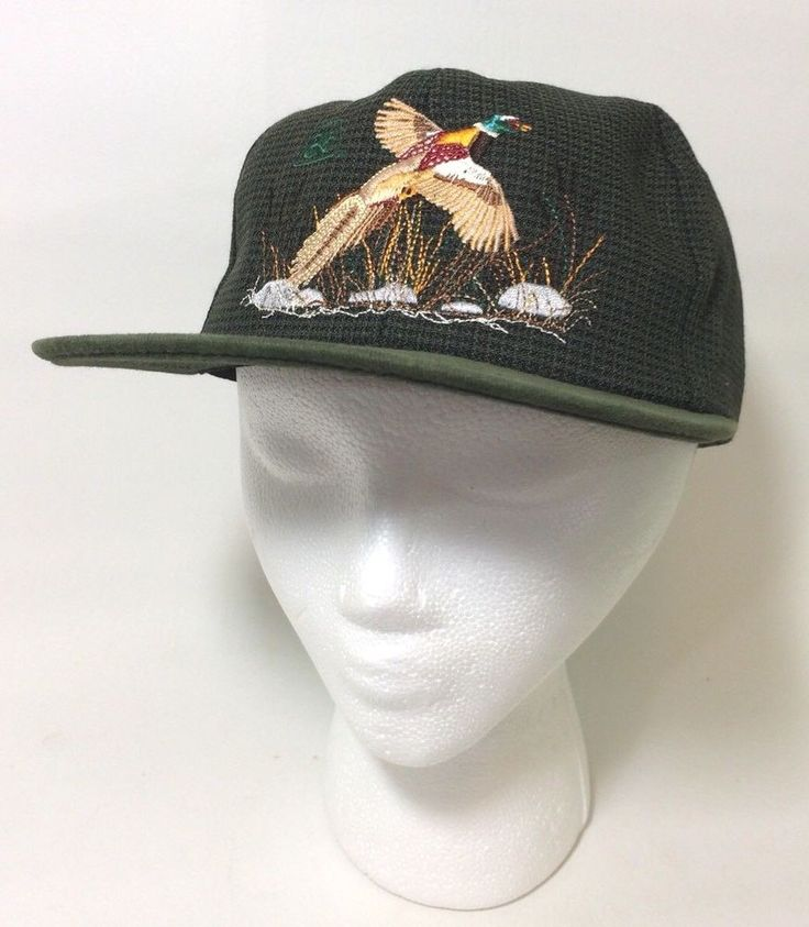 Pioneer Seed Snapback Trucker Hat Pheasant K Products USA Farmer 3ae7bd8bb771