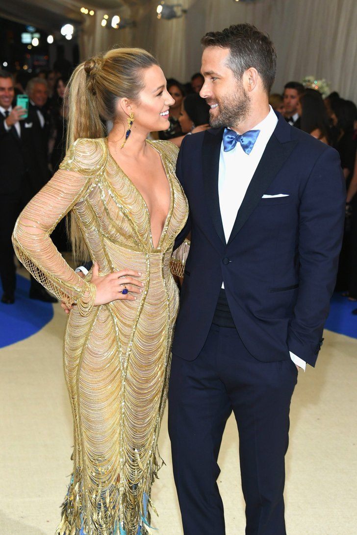 Ryan Reynolds and Blake Lively's Romance Is Absolutely Golden at the Met Gala