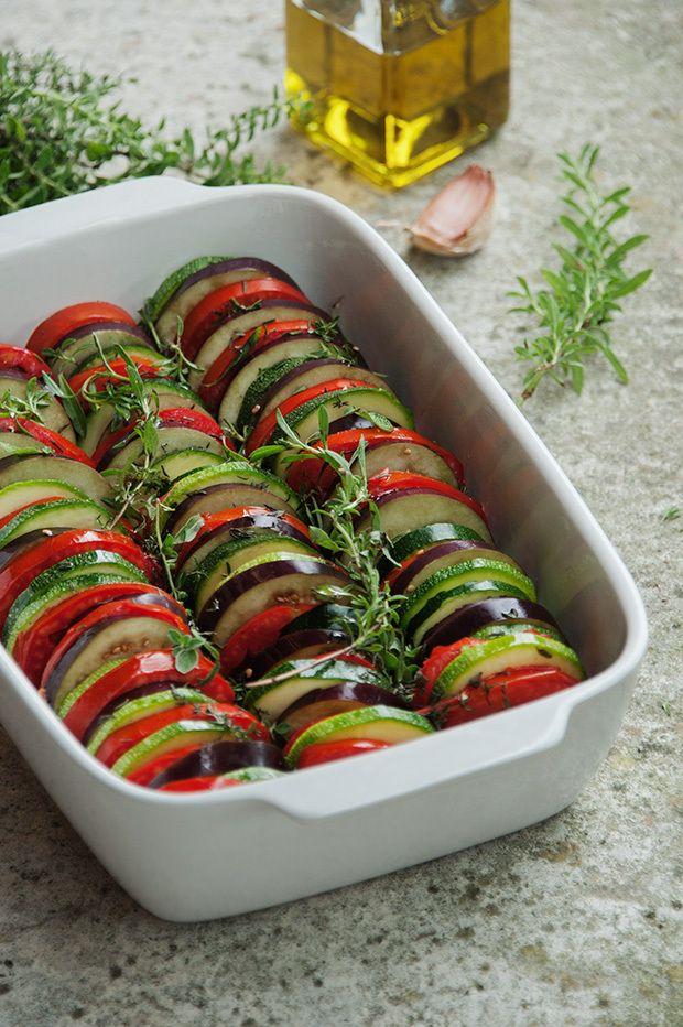 Tian aux légumes - recette facile - la cuisine de Nathalie - La cuisine de Nathalie