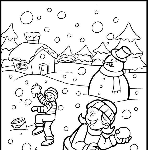 Winter Color Sheet Coloring Pages Winter Coloring Pages Winter Season Coloring Page Download Free Winter Season Kids Crafts Winter Wonderland Lembar Mewarnai