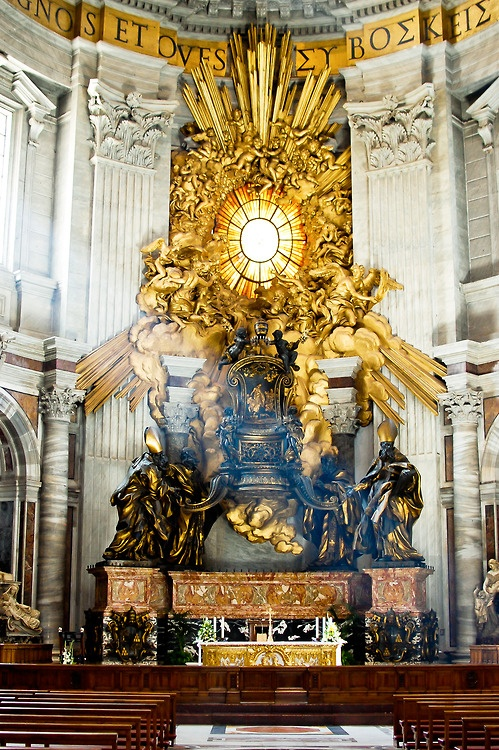 The Altar of the Vatican (With images) Vatican, Catholic
