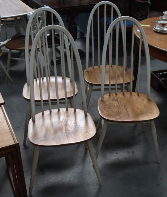 ERCOL CHAIR PAINTED - Google Search
