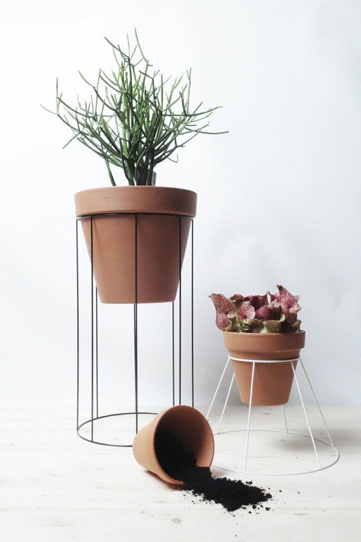 porte plante design pratique