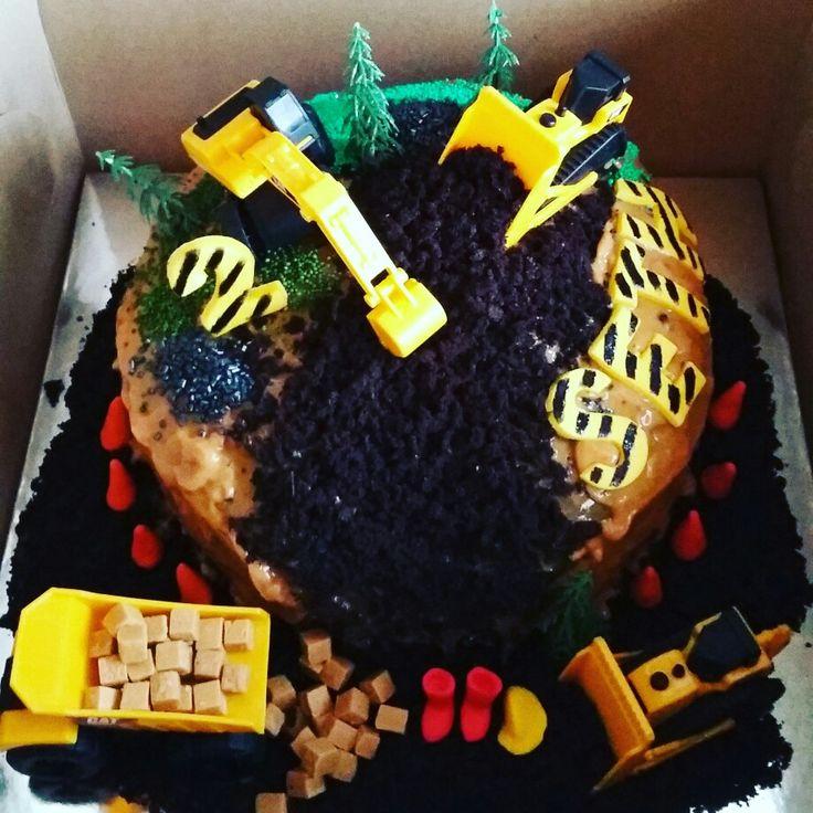 Building site cake #CAT