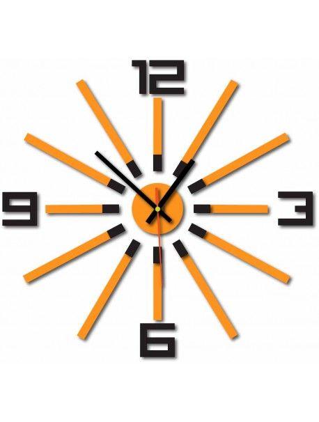 3D кольоровий годинник WARRAS, колір: чорний, оранжевий Артикул  X0032-RAL9005-2004 Стан:  Новий товар  Наявність:  In Stock  Прийшов час для змін! Прикрашати годинник оживити будь-який інтер'єр, підкреслити чарівність і стиль вашого простору. Їх тепло в корпус з новим годинником. Настінний годинник з оргскла є чудовою прикрасою вашого інтер'єру.