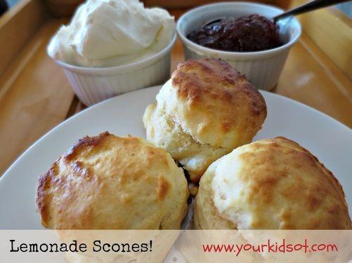 Lemonade Scones: Kids in the Kitchen Your Kids OT