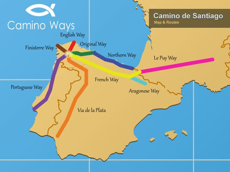Best Mapas Del Camino Maps Of The Camino Images On Pinterest - Portugal map english