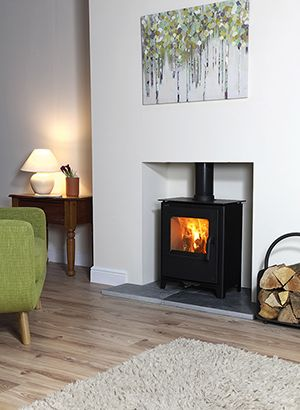 Eurostoves traditional style Loxton 5 4.6kW woodburning stove
