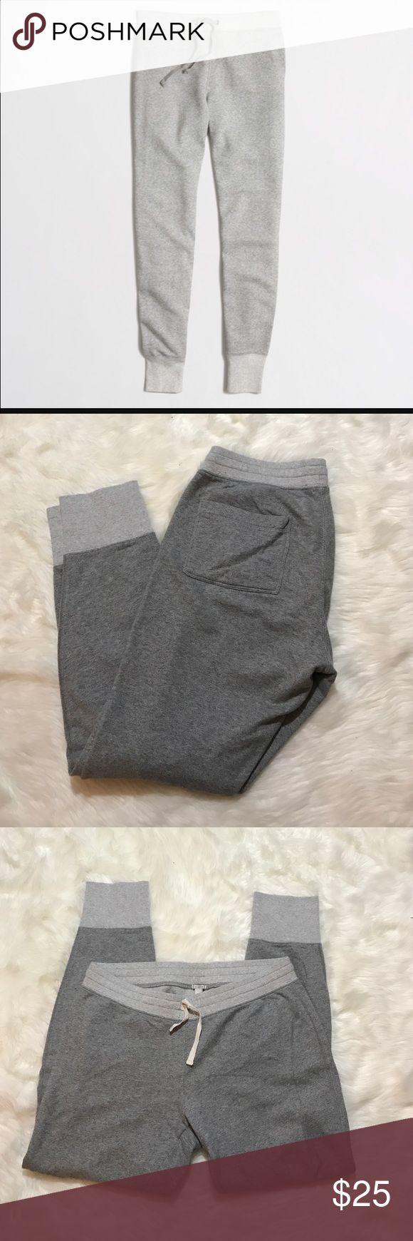 J. Crew gray jogger sweatpants J. Crew gray joggers pants size medium J. Crew Pants Track Pants & Joggers