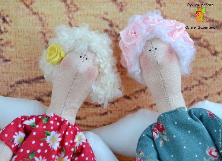 Купить Кукла Тильда - комбинированный, ангелы, кукла ручной работы, кукла в подарок, кукла интерьерная