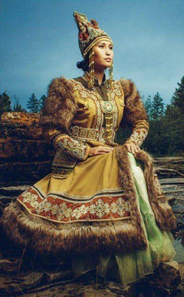 Yakutian national costume