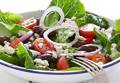 Mmmm Salade grecque!