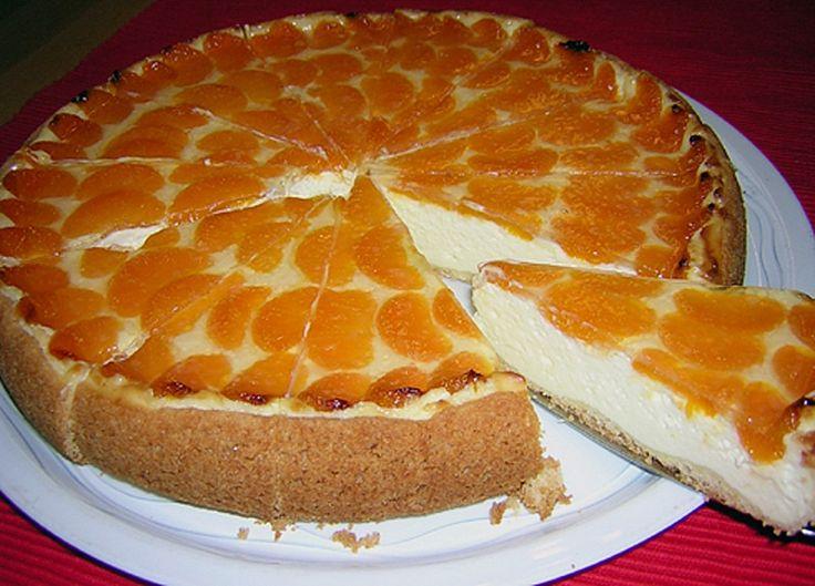 Kuchen mit quark schmand und mandarinen