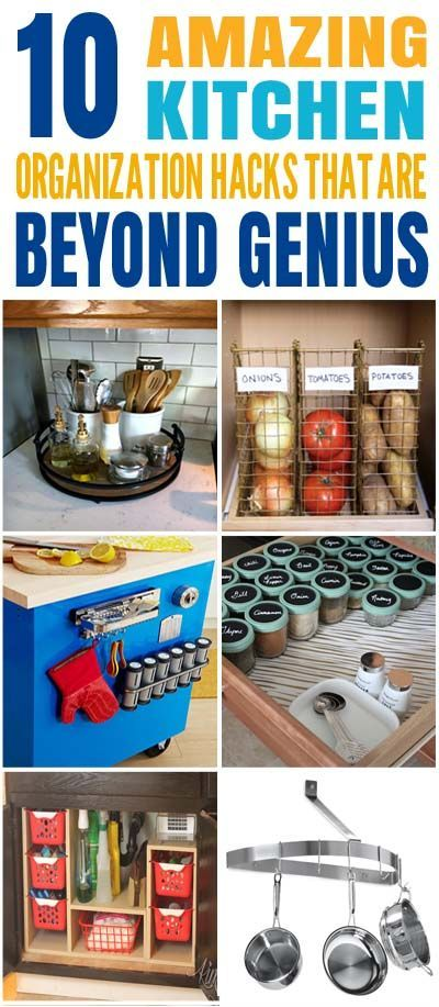 6d92bb6103c These are the BEST Kitchen organization hacks I ve ever seen! Glad to have  found these amazing kitchen organization and storage tips and ideas.