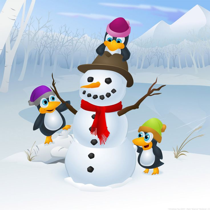 snowman family wallpaper - photo #29
