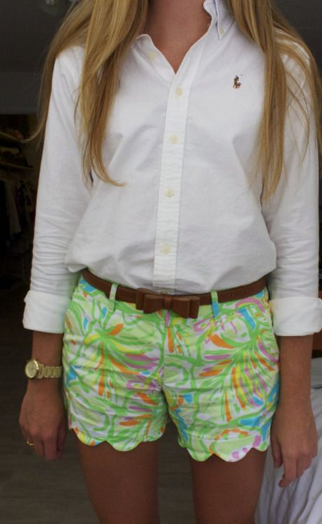 OOTD: shirt- polo factory, belt- target, shorts- lilly, watch- michael kors, ring- kate spade http://specialstyle.tudodescontos.com.br/
