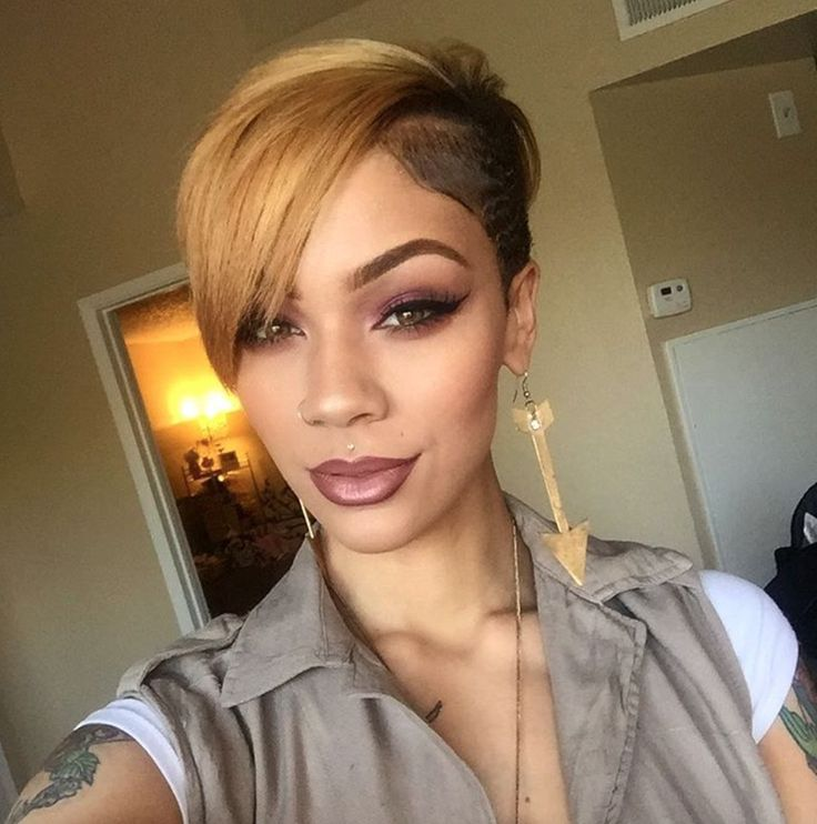 Peachy 1000 Ideas About Short Black Hairstyles On Pinterest Hairstyle Short Hairstyles For Black Women Fulllsitofus