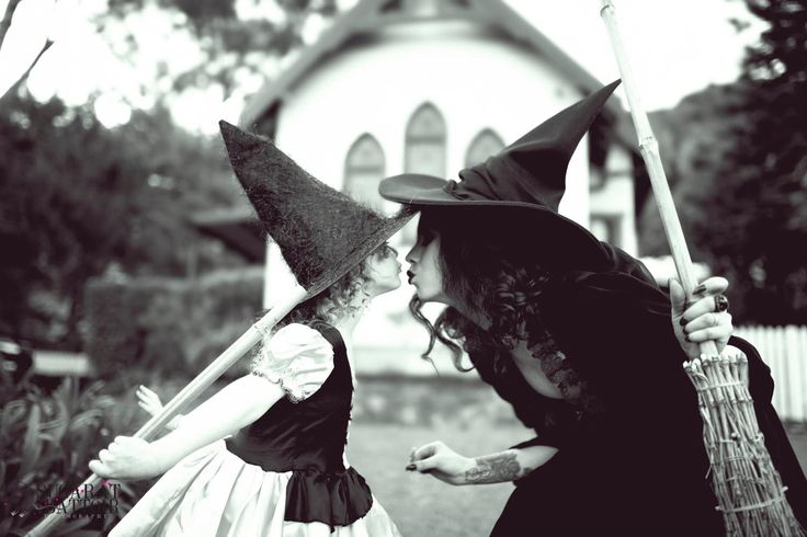 #witch kisses By Mishella Fortune & Keziah Sugarat #Halloween