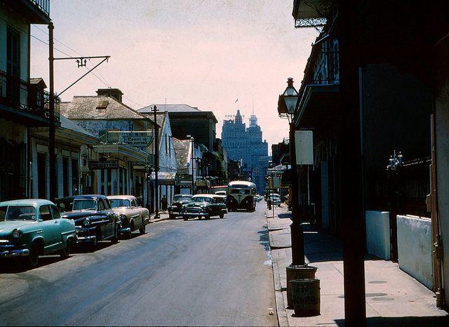 BOURBON STREET, 1940's...