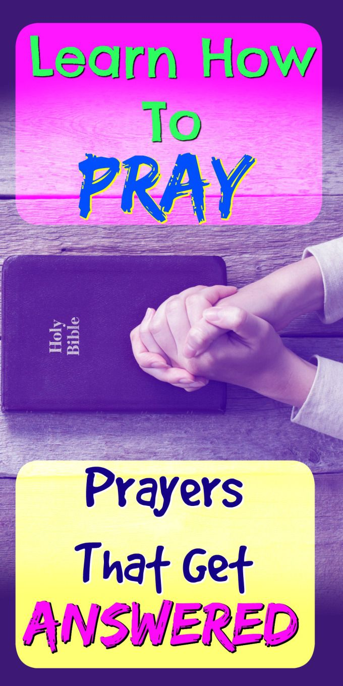 The key to having God answer your prayers is knowing what to pray.  Learn how to pray effectively in a way that gets your prayers heard and answered by God.