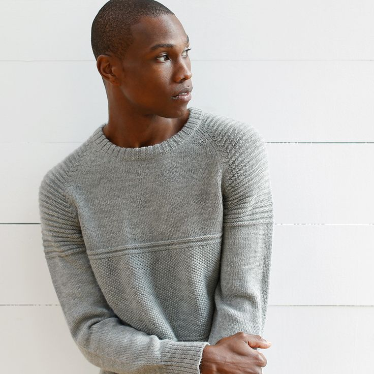 Alpaca wool sweaters for him.