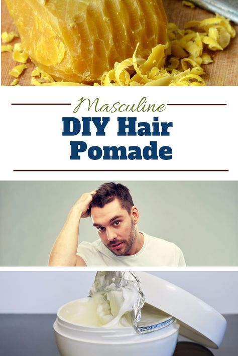 What if you can prepare a natural alternative to hair gel, which will also nourish hair and scalp? Here's a DIY Hair Pomade you can make for your man that will do that and more - http://www.moroccanpurearganoil.com/diy-hair-pomade-for-men/