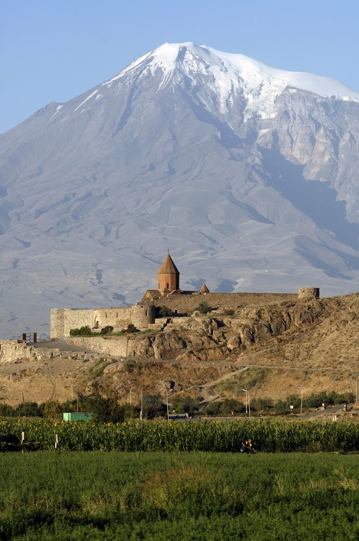 Monastero di Khor Virap, monte Ararat, #Armenia. Itinerario completo su kel12.com