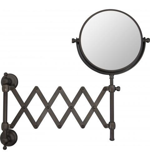 Caprice Scissor Mirror, Oil rubbed Bronze