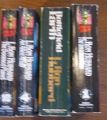 lot 4 L. Ron Hubbard Mission Earth 1,4,10 The Doomed Planet, Battlefield Earth