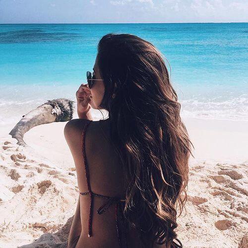 Inspiração foto na praia.