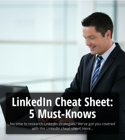 LinkedIn Cheat Sheet: 5 Tips For A Professional Profile  1) Turn Off Your Activity Broadcasts 2) Endorse Your Connections 3) Get Recommendations… Lots Of 'Em 4) Choose An Appropriate Photo 5) Give Your Professional Headline A Boost #Career #CareerDIY #howto #advice