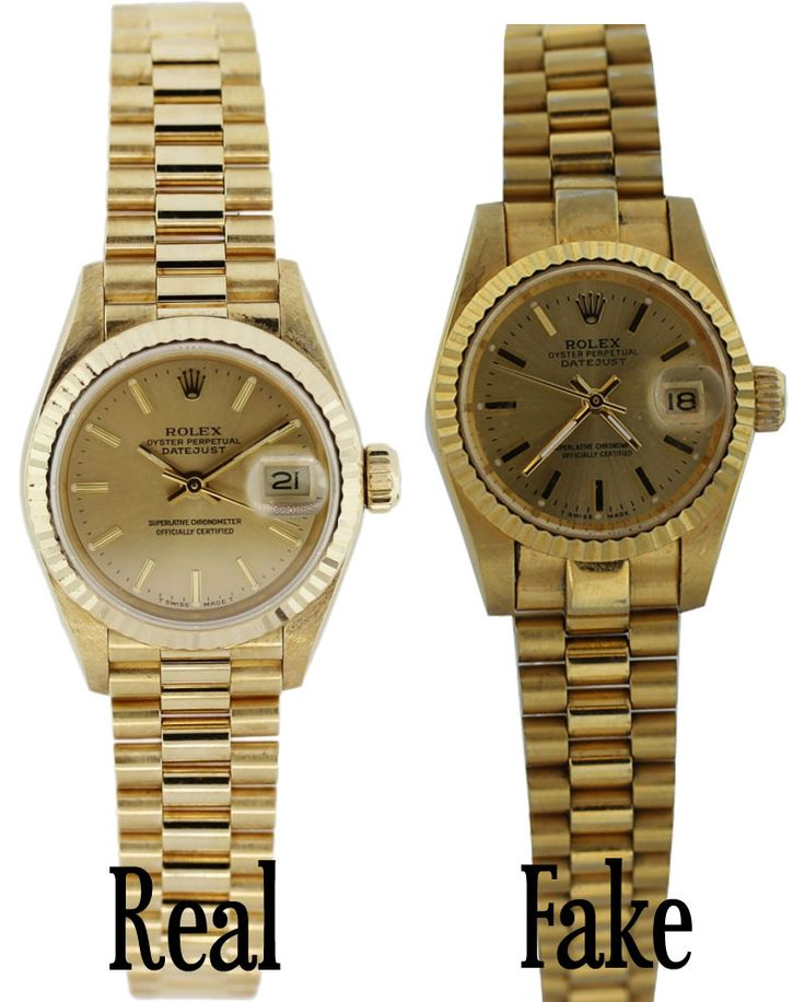 How to spot a fake Rolex presidential (ladies!)