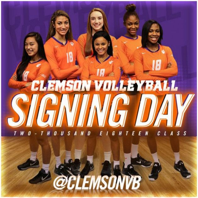 Volleyball Announces Incoming Class Of 2018 With Images Volleyball