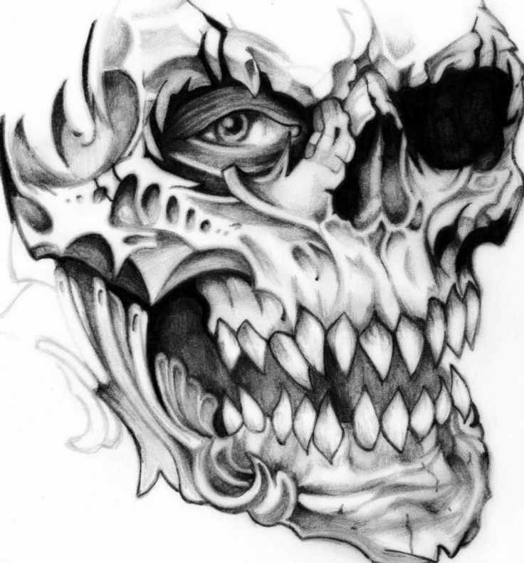 Смотреть картинки татуировок с черепами родственников