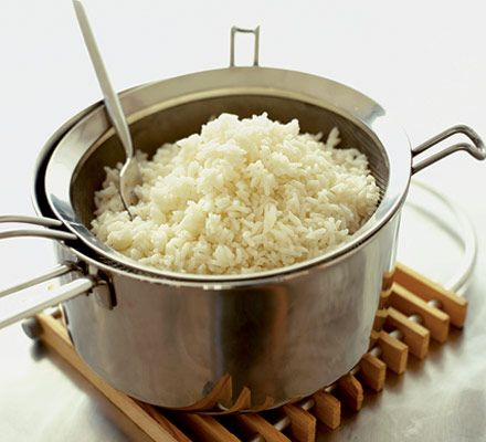 Utterly foolproof rice