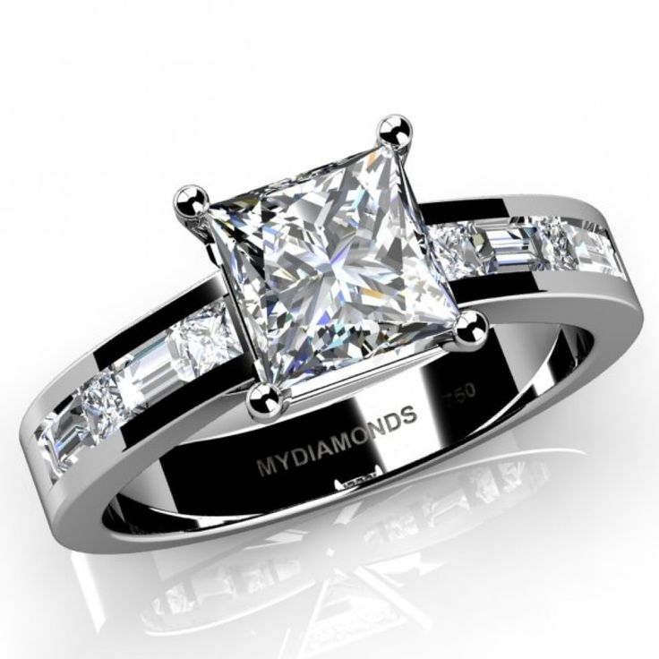 120 best Diamond Engagement Rings images on Pinterest
