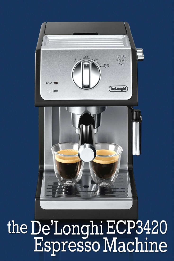 Home baristas rejoice! De'Longhi has created a small and affordable espresso machine for those who enjoy making their espresso and cappuccinos in the comfort of their own home. It can be tricky searching for an espresso machine that allows you to have control over much of the brewing and steaming process.