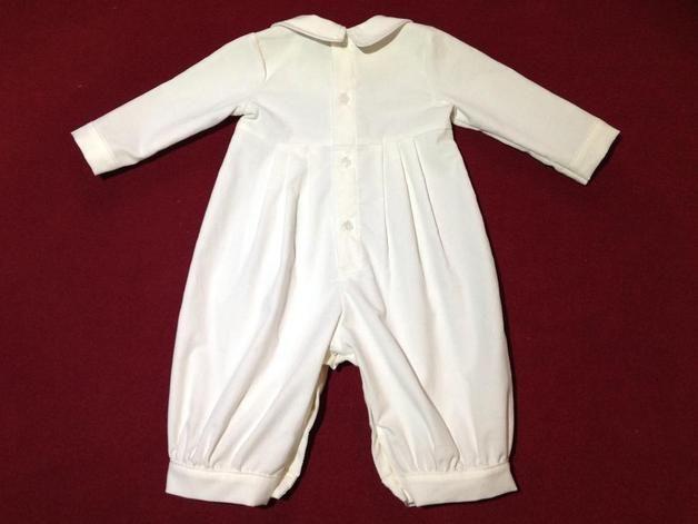 Taufbekleidung - Warmer Taufanzug Festanzug aus Babycord - ein Designerstück von fein-aber-klein bei DaWanda